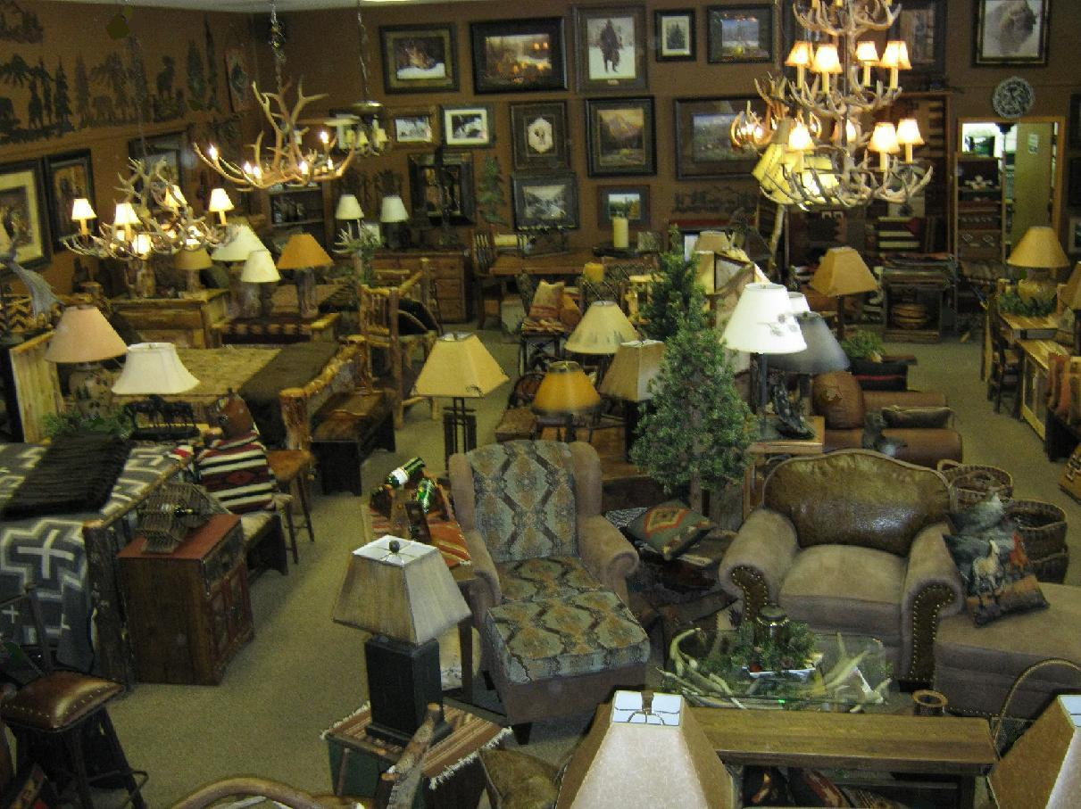 Rustic Home Furniture, Rich Ranch, Marshfield, Old Hickory at the Colorado Home Collection